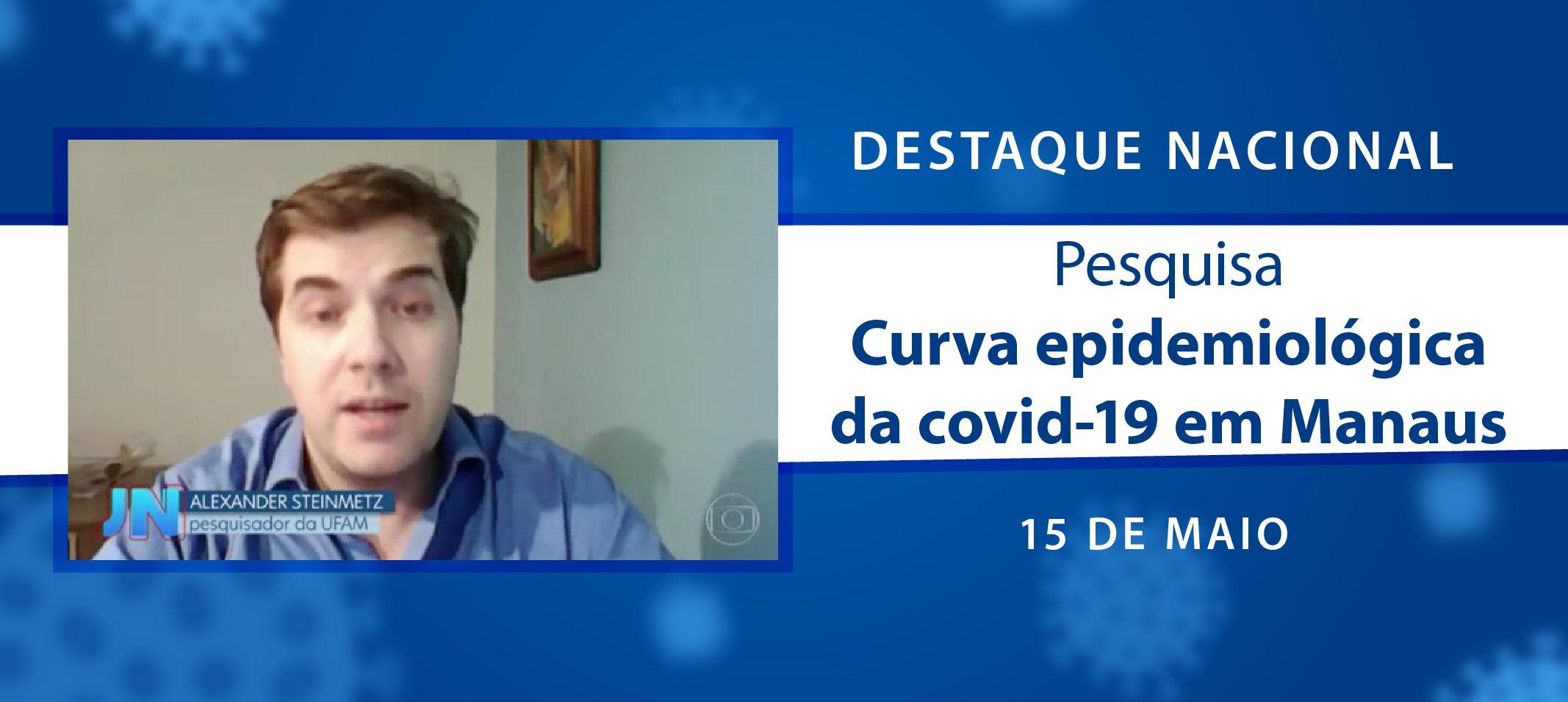 Pesquisa da Ufam que aponta eficácia do isolamento social para o achatamento da curva de covid-19 é destaque nacional