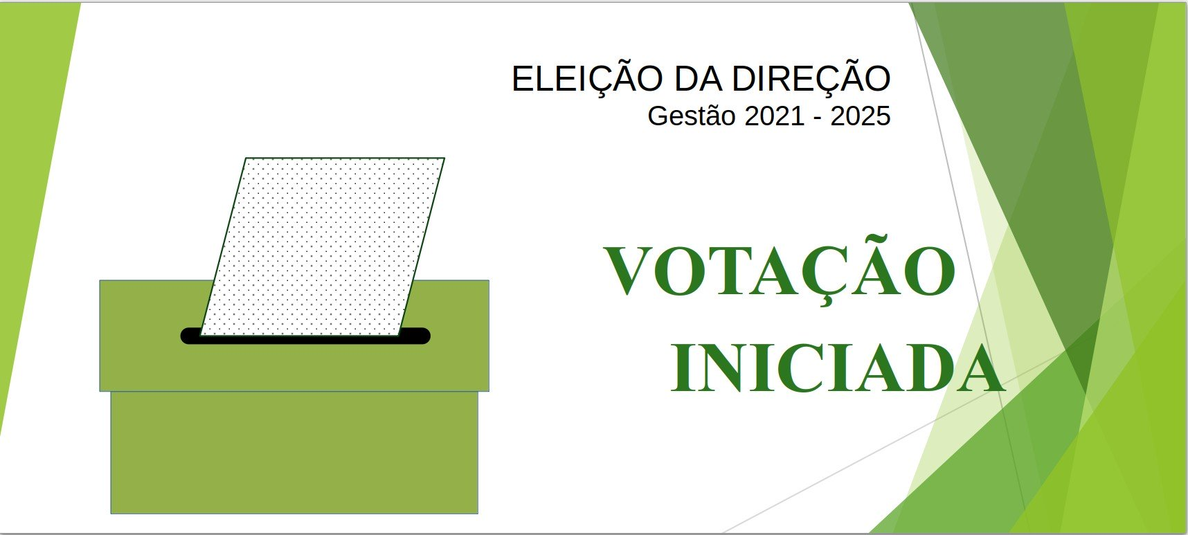 ELEIÇÕES ICE - LINKS PARA VOTAÇÃO DISPONÍVEIS